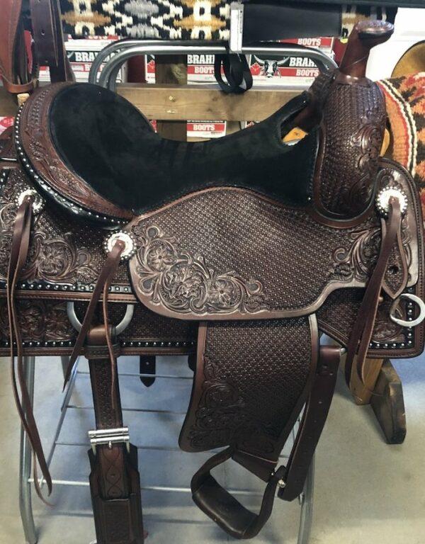 Bob's Ranch Versatility B20-543 Saddle 16 Seat