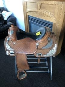 """Dale Chavez Used Saddle 16"""" Seat"""