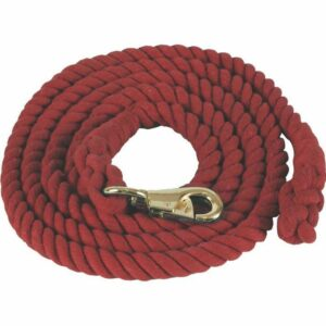 Cotton Lead Rope Bull Snap