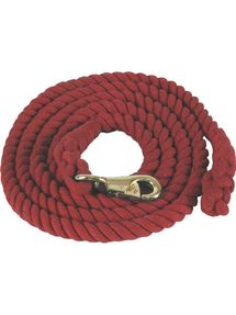 Cotton Lead Rope With Bull Snap 7006