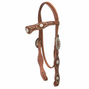 W R Browband Headstall 222253-54